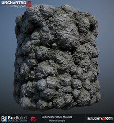 ArtStation - Uncharted 4   Dive   Rock Materials, Bradford Smith