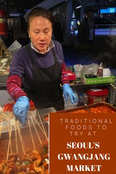 An expat's guide to some of the best traditional Korean foods to try at Seoul's oldest food market.