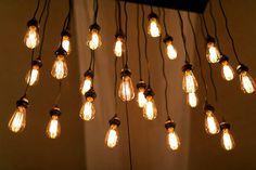 Edison bulbs for event decoration
