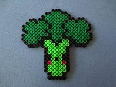 brocolli hama perler beads