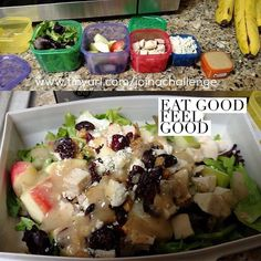21 Day Fix Chicken and Apple Salad