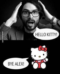 ByeAlex-nek gratulálnak a sztárok Haha, Hello Kitty, Funny Pictures, Humor, Drink, Memes, Funny Pics, Humour, Soda
