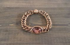 AC Collections - Miracles - BRACELET HORTENSE RG PINK STONE