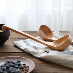 Natural Wooden Serving Spoon with Hanging Hook  Price: US $13.42 & FREE Shipping  🤔 🤔🤔 Curious about eco-friendly products?  🌿🐼🐾 Want to make a difference? 💃🕺😺    Then be part of the solution  💚✅🌌  don't be part of the problem 💩⚡📴   #ecofriendly #sustainable #climatefriendly #organic #renewable #biodegradable Bamboo Shop, Wood Sizes, Kitchen Utensils, Biodegradable Products, Spoon, Organic, Free Shipping, Natural, Cooking Utensils