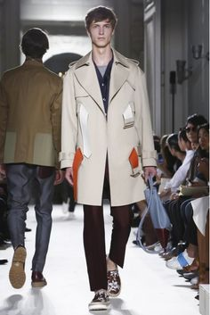 By mixing military and sailor looks, couture with jeans and Hawaiian shirts, Valentino presented their vision of the eclectic world traveler. #ParisFashionWeek #SS16