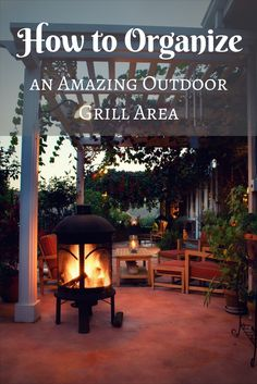 Having a welcoming area to treat your guests to a great outdoor grilling experience is a fantastic addition to your backyard. A well decorated and comfortable grill area can become a centerpiece of your backyard. It can also be an amazing point of conversation over any meal. Once you organize your grill area, you'll be able to entertain guests for hours on end. We've compiled a handy list of 7 simple tips to follow when picking out the perfect additions to tie your grill area together