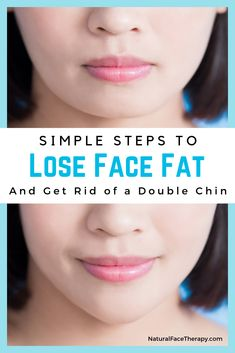 Ready to get rid of your double chin? Slim your face and lose face fat with these simple, step-by-step facial exercises to help you lose weight on your face. Thinner Face, Double Chin Exercises, Workout For Double Chin, Fat Face Exercises, Cheek Fat, Reduce Face Fat, Anti Aging, Reduce Double Chin, Serum