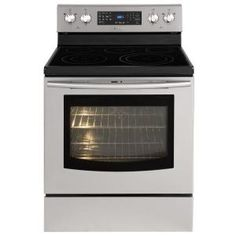 Samsung, 5.9 cu. ft. Electric Range with Self-Cleaning Convection Oven in Stainless Steel, NE595R0ABSR at The Home Depot - Mobile