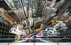 Intersection   Hong Kong   by navid j