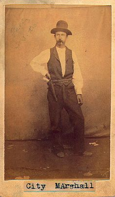 """Billy Brooks - Gunfighters were a unique Western frontier product and a breed of their own—neither outlaw nor lawman but often either or both during their lifetime. This photo of Billy Brooks depicts a typical gunfighter of the 1870s, and he fit the mold: he was a lawman in Newton and Ellsworth, Kansas, a gunfighter in Dodge City—before any of those towns became """"cowtowns""""—and he died at the end of a rope in 1874 as a horse thief. This photo was probably taken circa 1872."""