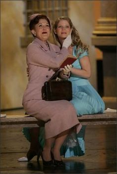 """Kelli O'Hara and Victoria Clark in """"Light in the Piazza"""""""