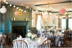 Chesapeake Bay Wedding Venue. Indoor Reception. Osprey Point Weddings. Ask us about how to decorate the restaurant for your theme and style!
