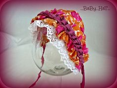 Amálka....šitá čepička na focení dětí Baby Hats