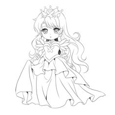 Printable Chibi Coloring Pages - Printable Coloring Pages To Print Belle Coloring Pages, Chibi Coloring Pages, Avengers Coloring Pages, Disney Princess Coloring Pages, Fairy Coloring Pages, Pokemon Coloring Pages, Cool Coloring Pages, Coloring Pages To Print, Coloring Books