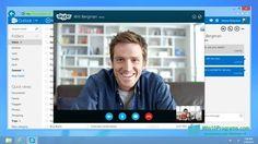 Скриншот программы Skype для Windows 10