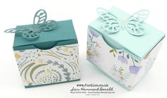 Stampin' Up! #1 Demonstrator Pootles -Bold Butterfly Box Tutorial using Delightful Daisy