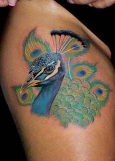Lonis Tatoos - peacock
