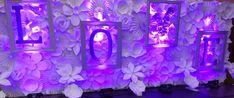 Toile de fond de fleur de mariage Mariage papier stade fleurs