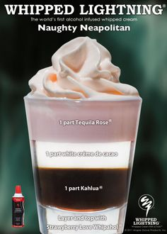 Naughty Neapolitan Shot Recipe