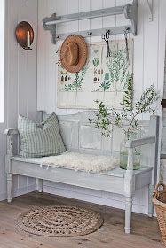 Farmhouse Decorating - Norwegian Style - VIBEKE DESIGN:  Gamle møbler får nytt liv !