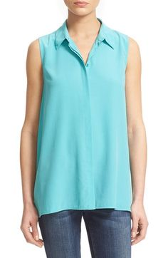 EQUIPMENT 'Mila' Silk Shirt. #equipment #cloth #