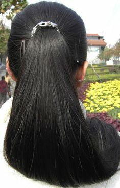 Long Ponytail Hairstyles, Long Hair Ponytail, Braids For Long Hair, Indian Hairstyles, Indian Hair Cuts, Indian Long Hair Braid, Long Black Hair, Super Long Hair, Cut My Hair