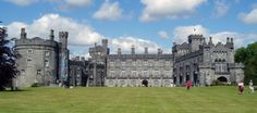 Statutes of Kilkenny In 1366 c. the Anglo-Irish parliament met in Kilkenny and produced a body of royal decrees that became known as . Castles In Ireland, Ireland Homes, Kilkenny Castle, Best Of Ireland, Happy City, Chill, Irish Landscape, On The Road Again, Castle House