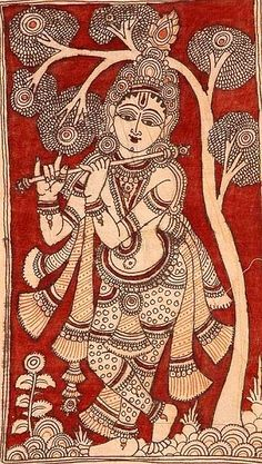 Buddha Kunst, Buddha Art, Indian Traditional Paintings, Indian Art Paintings, Kerala Mural Painting, Madhubani Painting, Krishna Art, Krishna Painting, Dibujo