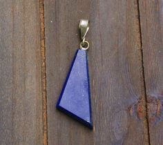 Simply Lapis Lazuli Pendant door EASTERNSOULS op Etsy