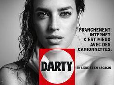 Novembre 2013. Nouvelle campagne Darty. Repositionnement plus jeune. Campagne signée BDDP infinity.