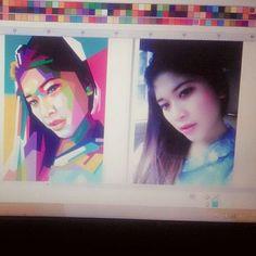 masih close order, untuk eksistensi saja..  . . . #wpap #vector #art #artwork #opparudy #popart #indonesia #colorful