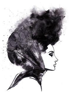 Monsieur Qui  #illustration
