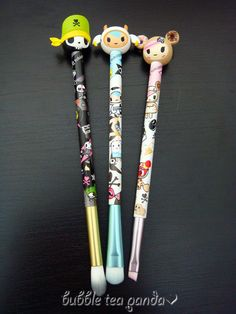 Sephora Haul: tokidoki Pittura Brush set #tokidokilovesyou