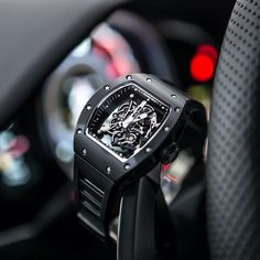 This beautiful Richard Mille RM055 is about to ride.