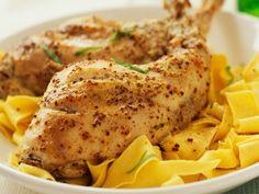 Découvrez la recette Lapin à la moutarde hyper simple sur cuisineactuelle.fr.