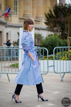 Haute Couture Spring 2016 Street Style: Anya Ziourova