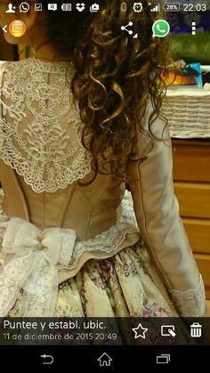 Pilar Valverde Old Dresses, 1700s Dresses, Vintage Dresses, Nice Dresses, Victorian Party, Victorian Costume, Victorian Steampunk, 18th Century Dress, 18th Century Costume