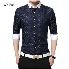 1455ed54464 2018 New Fashion Brand Clothing Mens Dress Shirt Long Sleeve Shirt Mens  Casual Slim Fit Floral Shirt Men Plus Size 6XL 7XL-in Casual Shirts from  Men s ...
