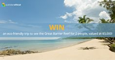 Win an eco-friendly Great Barrier Reef trip for two people ($3,000  value) https://www.australianethical.com.au/news/giveaways/win-a-great-barrier-reef-trip/?lucky=2281