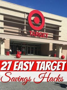 27 Easy hacks to save at Target - Need to find ways to save money at Target? These 27 Easy savings hacks will save you a bundle and I bet there are a few even the most vetrans Target Shopper doesn't know!