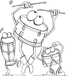 22 musical themed colouring pages for kids colouringpages coloringpages kids