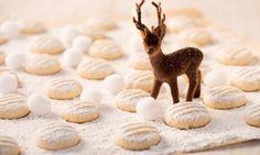 Plätzchen-Rezept Schneeflöckchen » Sanella