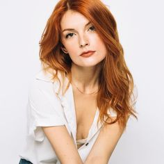 Most beautiful redhead in the world can