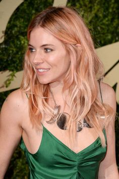 Would you rock this risky hair color like Sienna does?