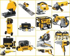 DeWalt tools.