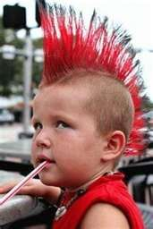 kids with mohawks