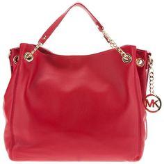MICHAEL MICHAEL KORS large tote bag ($395) ❤ liked on Polyvore