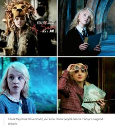 luna lovegood - harry potter