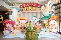 Unbelievable Hercules birthday party! See more party ideas at CatchMyParty.com!