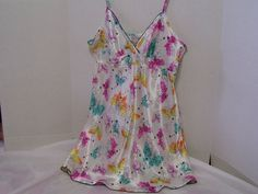 Chemise Nightgown Teddie Butterfli9es Multi Colors by cachecastle, $16.50